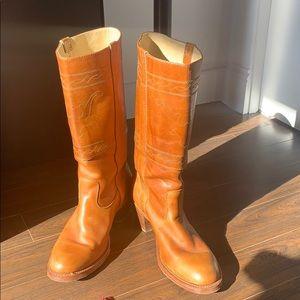Vintage Double H Cowboy Boots